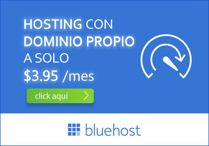 descuento bluehost